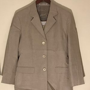 Yohji Yamamoto Linen Suit